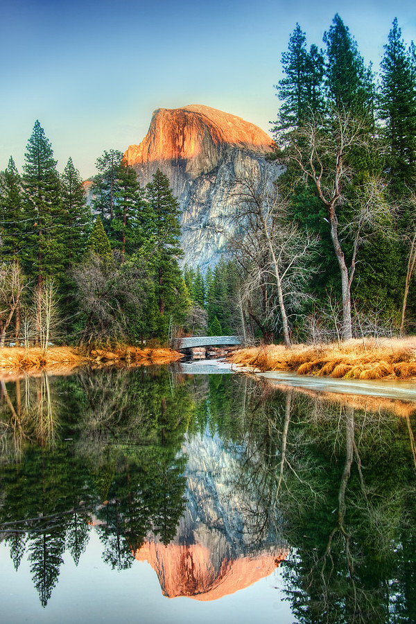 Reflections in Yosemite